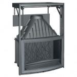 Istma Gücü: 14 kW Azami Odun Kapasitesi: 55 cm Baca Boru Ağzı: 200 mm / Çap Ağırlık: 165 kg Ebatlar: 1051x700x558.5 mm