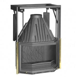 Istma Gücü: 15 kW Azami Odun Kapasitesi: 63 cm Baca Boru Ağzı: 200 mm / Çap Ağırlık: 188 kg Ebatlar: 1090x826x549,5 mm