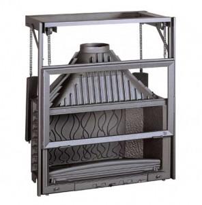 Istma Gücü: 18 kW Azami Odun Kapasitesi: 73 cm Baca Boru Ağzı: 200 mm / Çap Ağırlık: 219 kg Ebatlar: 1158x903x539,5 mm